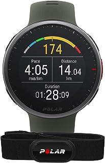Polar Vantage V2 med H10 Pulsbälte – Premium multisport smartklocka med GPS, handledsbaserad pulsmätning för löpning, simn...