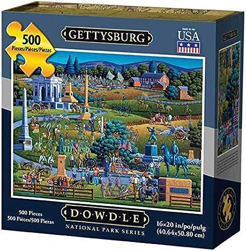 entrega gratis Dowdle Dowdle Dowdle Puzzle Gettysburg National Park 500pcs by Dowdle puzzle  directo de fábrica