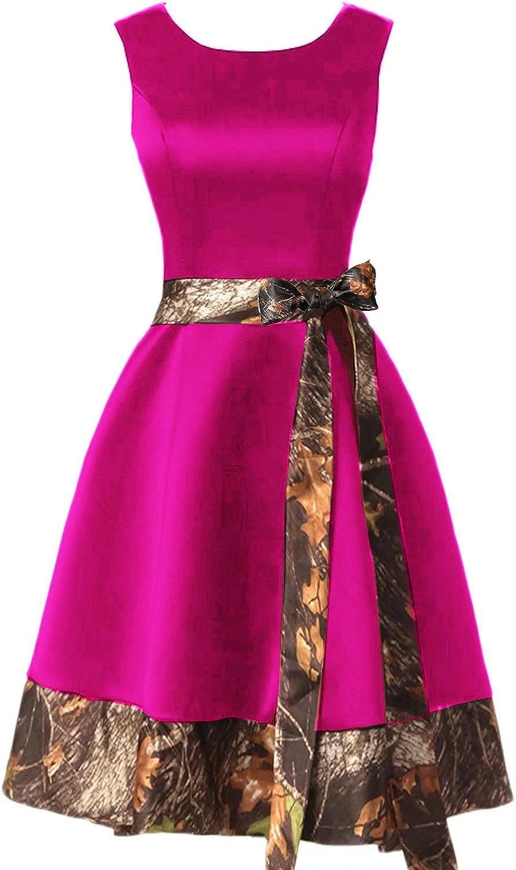 Anlin CAMO Homecoming Dress Short Prom Gown Bridesmaid Dress ALN02