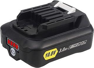 QUPER 10.8V-12V 3.0Ah bl1015 Li-ion Replacement Batteries Compatible with Makita DC10SA, DC10WC, JR103DZ, TD110DZ, HS301D...