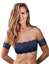 Victoria's Secret Blue Lace Off-The-Shoulder Bralette Size M
