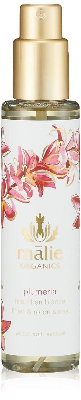 資源大使道徳のMalie Organics(マリエオーガニクス) リネン&ルームスプレー プルメリア 148ml
