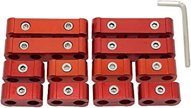 Ucreative 12pc Engine Spark Plug Wire Divider Separator Kit for 8mm 9mm 10mm