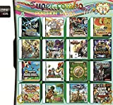 Yaogroo 208 juegos en 1 NDS Game Pack Tarjeta Super Combo Multi-Cardge para DS NDS NDSL NDSi 3DS 2DS XL