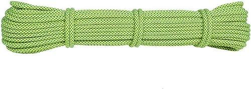 HWPYSL 6Mm saisir la Corde, Corde, Corde de Parapluie Corde de Vie, Corde empaquetée, Fournitures d'escalade, Corde auxiliaire d'escalade