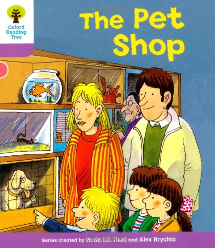 Oxford Reading Tree: Level 1+: Patterned Stories: Pet Shopの詳細を見る