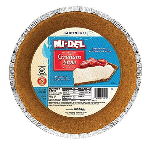 Midel Graham Style Pie Crust, 7.1 Ounce - 12 per case.