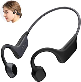 $49 » Sponsored Ad - DGwear Open-Ear Wireless Bone Conduction Headphones Bluetooth 5.0 with Sport Belt, IP67 RatedTitanium, Ligh...