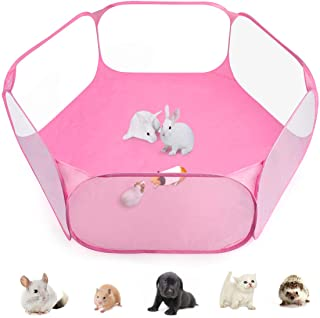 Casifor Guinea Pig Cage Rabbit Cage with Mat Playpen Perfect Size for Small Animal Pet Play Pen Easy to Clean Exercise Yar...