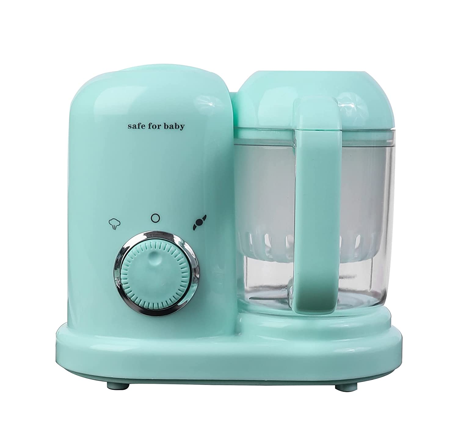 Baby Food Maker   Baby Blender Food Maker   Baby Food Processor, Baby Food Nutrition Adding Processor Automatic Cooking and Grinding of Fruit Vegetable and Fish Meat Baby Essentials