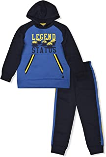 Big Boys Fleece Hoodie and Sweatpants 2 Piece Set Sweatsuit
