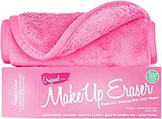 The Original MakeUp Eraser, Erase All Makeup With Just Water, Including Waterproof Mascara, Eyeliner, Foundation, Lipstick, and More (Original Pink)