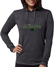 CafePress - Slainte Toast to Your Health Long Sleeve T-Shirt - Womens Hooded Shirt