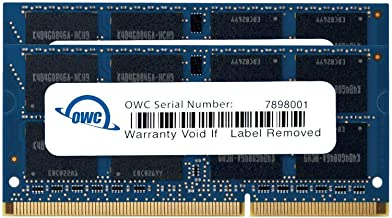 OWC 12.0GB (8GB+4GB) 1333MHz 204-Pin DDR3 SO-DIMM PC3-10600 CL9 Memory Upgrade Kit, (OWC1333DDR3S12S)