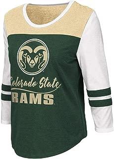 Womens Colorado State Rams Palermo 3/4 Sleeve Tee Shirt