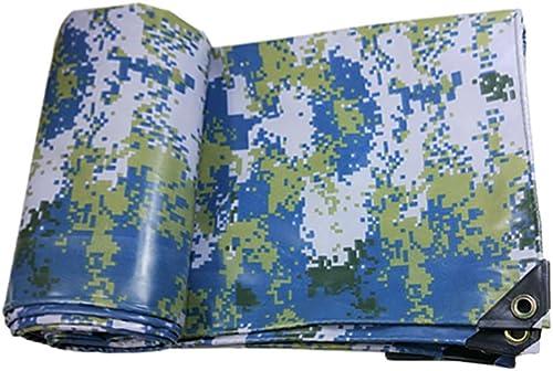 DLDL Bache de Camouflage imperméable Couverture de bache de Sol Ground Camo - 450G   M2 (Taille   4  10m)