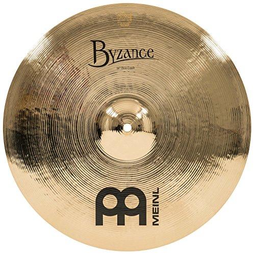 "MEINL マイネル Byzance Brilliant シリーズ クラッシュシンバル 16"" Thin Crash B16TC-B 【国内正規品】"
