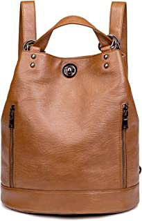 comprar comparacion Tisdaini® Bolsos Mochila Mujer moda casual viaje Retro Bolsos de mano mochila Marrón