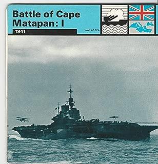 1977 Edito-Service, World War II, 10.12 Battle of Cape Matapan: I