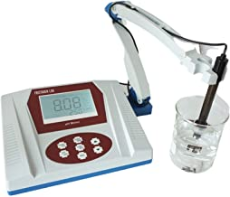 Fristaden Lab Benchtop pH Meter | 0.01 pH Accuracy | Scientific pH Meter for Wine, Beer and More | Digital Bench Top pH Me...