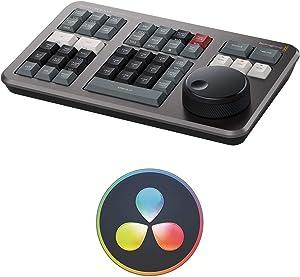 Blackmagic Design Davinci Resolve Speed Editor Bundle with Davinci Resolve 17 Studio (Activation Card) (2 Items)