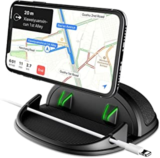 دارنده تلفن اتومبیل ، تلفن اتومبیل داشبورد تلفن سیلیکون تلفن داشبورد انواع ماشین ، داشبورد مختلف ، میز ضد لغزش میز سازگار با آی فون ، سامسونگ ، تلفن های هوشمند آندروید ، GPS ، KGs3