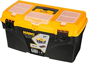 Mano Co/21 Organizerli Klasik Takım Çantası, Polypropylene, Siyah/Sarı, 53.3  Cm, 1 Adet