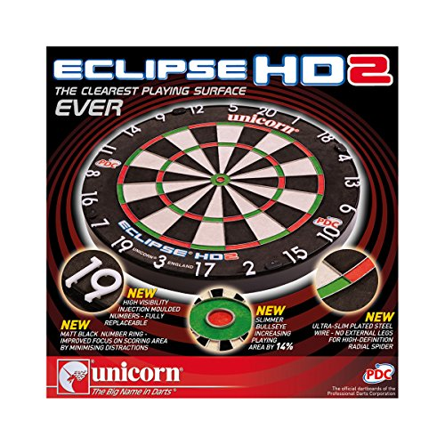 Unicorn Dart Board Eclipse HD2 TV Edition - 2
