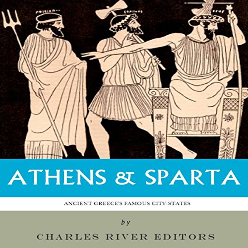 Athens & Sparta audiobook cover art