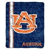 Officially Licensed NCAA Jersey Sherpa on Sherpa Throw Blanket, 50' x 60', Multi Color