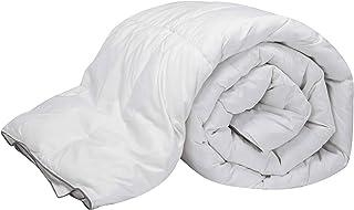 Pikolin Home - Edredón/Relleno nórdico natural de plumón de oca 96%, funda 100% algodón, dúo 100+150gr/m², 180x220cm-Cama 100/105 (Todas las medidas)