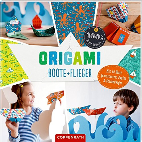Origami Boote + Flieger (100% selbst gemacht)