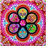 SINACO Diamond Painting Kit for Adult 5D DIY Full Round Drill Diamond Painting Sets Arts Craft for Home Decor Flower Taro 11.8x11.8in 1 Pack by