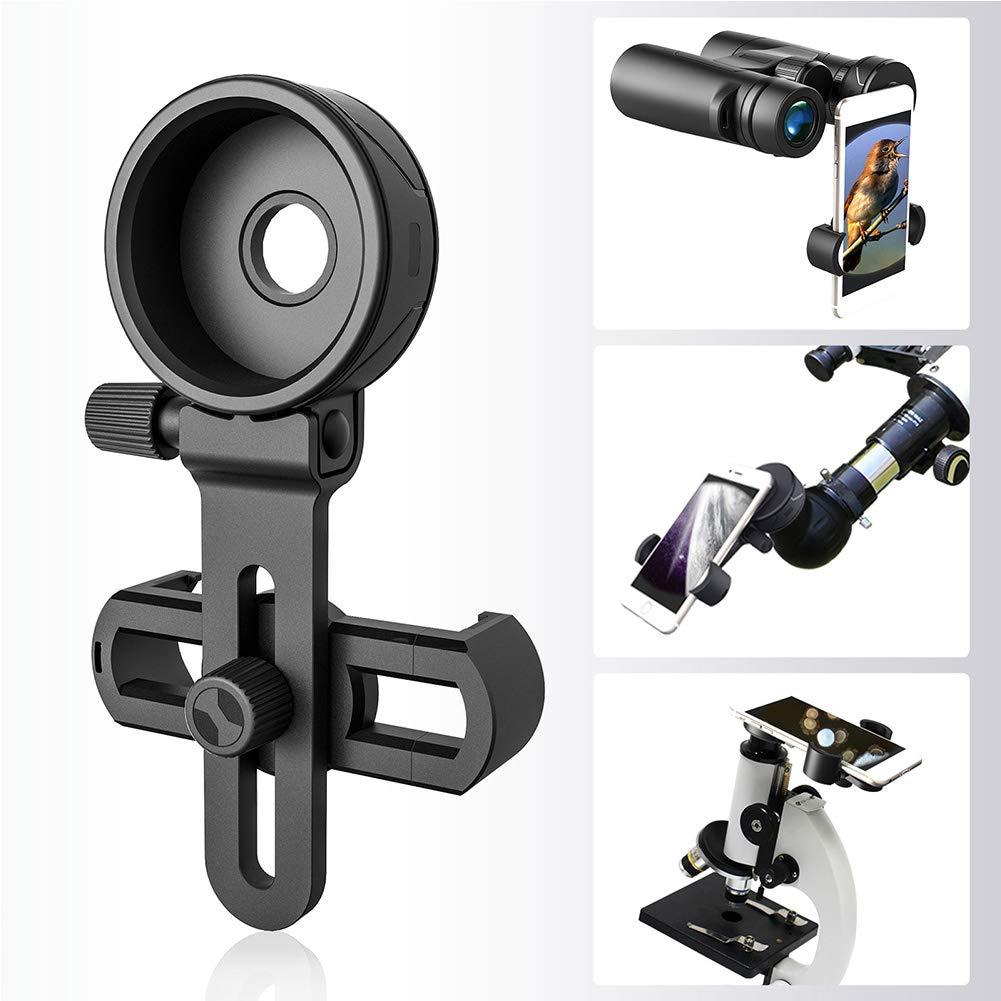 Spotting Scope - Adaptador de cámara para smartphone, telescopio, adaptador universal para teléfono celular para prismáticos, monoculares, telescopios, microscopios: Amazon.es: Hogar