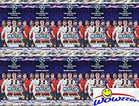 2018/2019 Topps Match Attax Champions League Soccer Collection of (10) Factory Sealed Foil Packs with 60 Cards! Look for Top Stars including Ronaldo, Lionel Messi, Neymar, Harry Kane & More! WOWZZER!