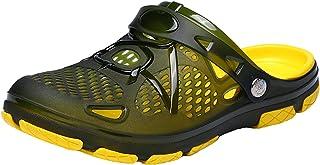 Willsky Unisex Clogs Garden Pool Beach Summer Sandals Non-Slip Outdoor Breathable Slippers Slip-On