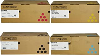 Ricoh 406344, 406345, 406346, 406347 Standard Yield Toner Cartridge Set - Ricoh Aficio SP C232DN