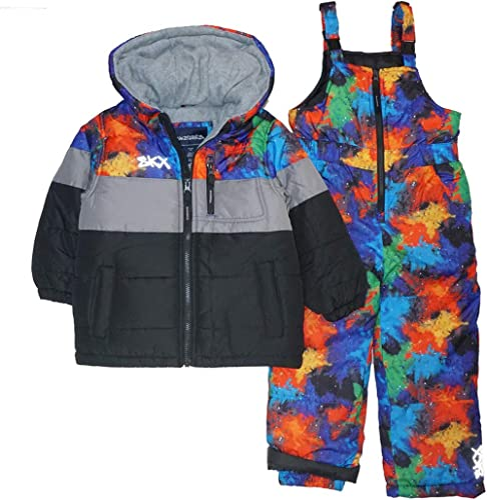 Boys Arctic Quest Colorblock Light Lined Hooded Jacket S 8 M 10-12 L 14-16 Xl 18