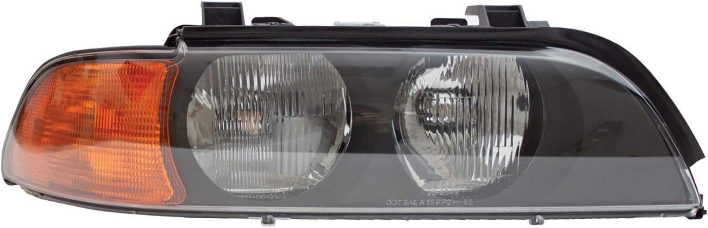 HEADLIGHTSDEPOT Chrome shop Housing Halogen Headlight Passenger Right Cheap super special price