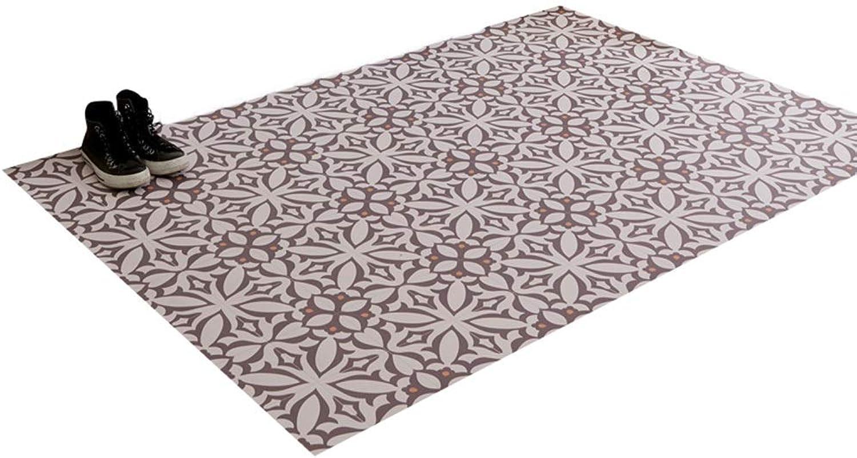 JIAJUAN Doormat Entrance Waterproof Cuttable Non-Slip Large Indoor Outdoor Doormat Home, 2 Mm, 4 Sizes (color   A, Size   105x118cm)