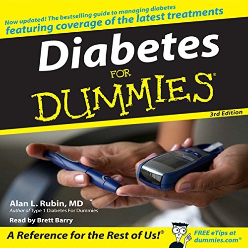 Diabetes for Dummies, 3rd Edition Titelbild