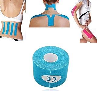 Ndier Cinta Terapéutica para Músculos, Resistente al Agua, Adhesivo para Alivio del Dolor