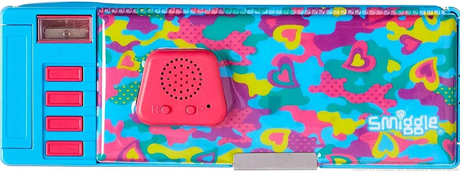 2XChaos Pop Out Record & Light up Pencil Case