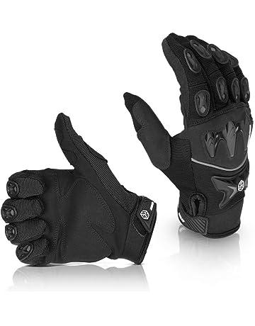 Guanto moto guanti da moto sci inverno Thinsulate NERO GRIGIO XL