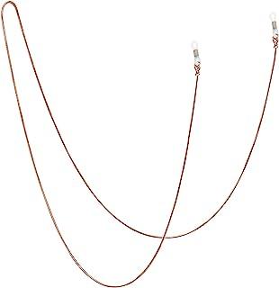 Jmkcoz Stainless Steel Eyeglass Holder Chain 80cm Eyeglass Necklace Chain