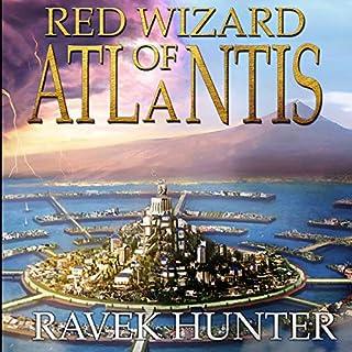 Red Wizard of Atlantis (Worlds of Atlantis) audiobook cover art