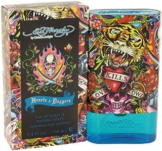 Ed Hardy Hearts & Daggers by Christian Audigier Men's Eau De Toilette Spray 3.4 oz - 100% Authentic