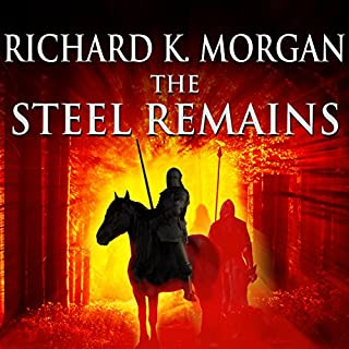 The Steel Remains audiobook cover art