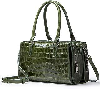 New Women's Top-Handle Handbags,Multi-Function Zip Pocket & Detachable Shoulder Strap