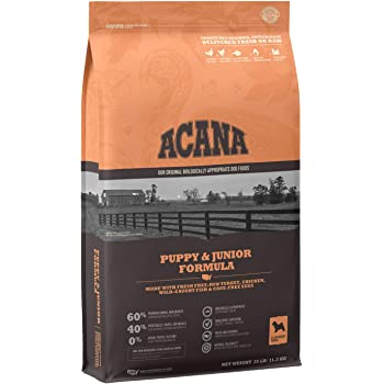 Acana Dry Dog Food for Puppy, Grain Free, Chicken, Turkey, Fish, Cage-Free Eggs